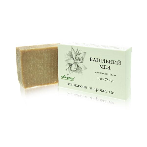 Мыло ванильный мёд Апипродукт