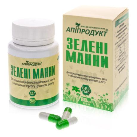 Зеленые-манны-Апипродукт