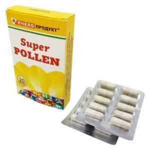 Витаминный комплекс Супер-пыльца, 20 капсул